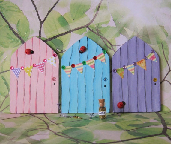Fairy door with key and fairy dust tooth by for Fairy door with key