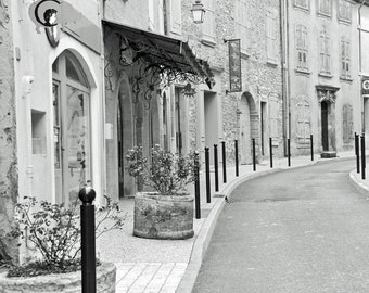 France Photography, French Village, Provence, Luberon, French country, Provence, Europe, Travel photo, Fine Art Print, beige wall art