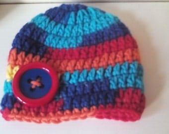 Newborn boy hat, chunky boy hat, Crochet beanie hat ,crochet boy hat, baby boy  hat, boy beanie hat