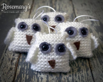 Snowy Owlet with Hanger