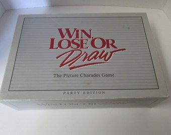 win lose or draw how to play