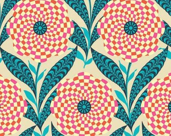 Zebra Bloom from Amy Butler's Eternal Sunshine Collection by Free Spirit