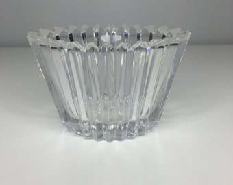 SALE! vintage glass candy/sugar dish