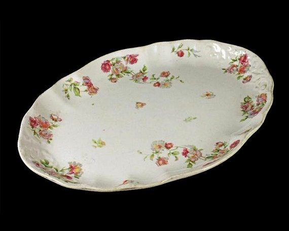 Antique Platter, Maddock Lamberton Works, Royal Porcelain