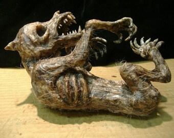Werewolf Fetus sideshow gaff freak