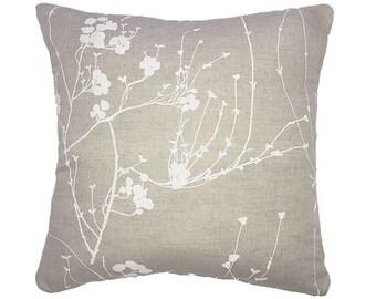 Linen Cushion- Linen Home Decor- Linen Pillow- Modern Linen- Grey Pillow- Beige Pillow- Linen Throw Pillow- Cushion Cover- Bramble