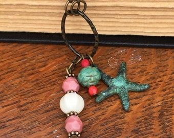 Summer dreaming charm necklace