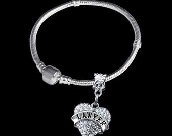 Lawyer Bracelet Lawyer Gift Lawyer Jewelry Lawyer charm Attorney Gift Attorney Bracelet Attorney Jewelry Attorney charm