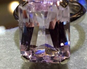 Kunzite Ring light Kunzite S925 item534