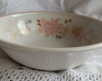 Boots Hedge Rose Cereal / Soup Bowl 1980's