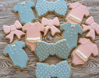Bows and Bow Tie Cookies