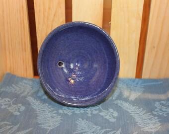 Pottery Pedestal Soap Dish