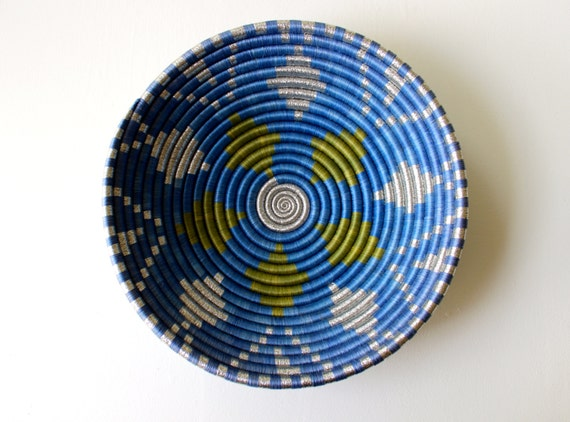 African Coil Basket