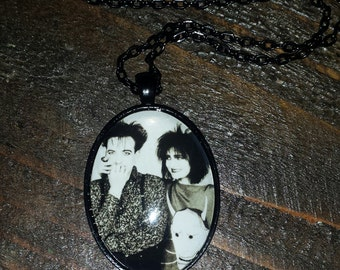 Robert Smith and Siouxsie Sioux Pendant