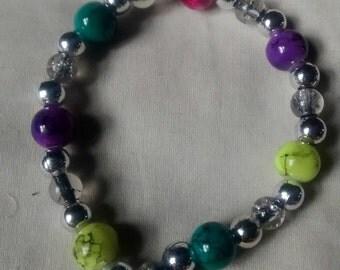 "Colorful 8"" bracelet"