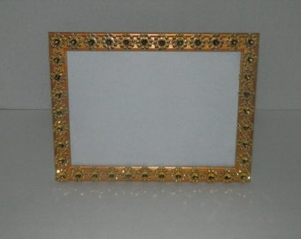 Wedding , Gold  5 x 7 Picture frame, Gold frame for table numbers, Gold wedding decorations, wedding centerpiece frame