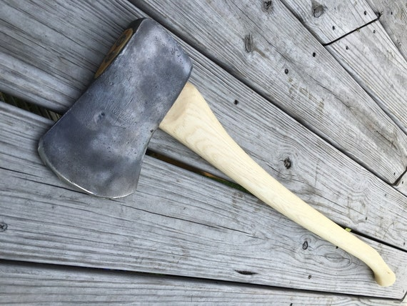 Plumb Victory Axe With New 36 Inch Handle Of American Hickory