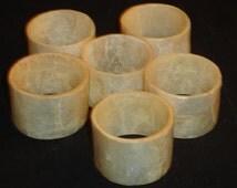 Vintage Capiz Seashell Napkin Holders Sea Shells Set of