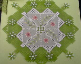 PP1 - Lace and Flowers (single pattern)