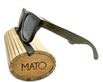 mato polarized wooden sunglasses menswomens wooden sunglasses wayfarer wood sunglasses bamboo sunglasses case wood frame glasses