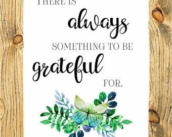 Grateful Digital Art Print