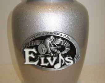 825 Elvis Adult Metal Cremation Funeral Urn