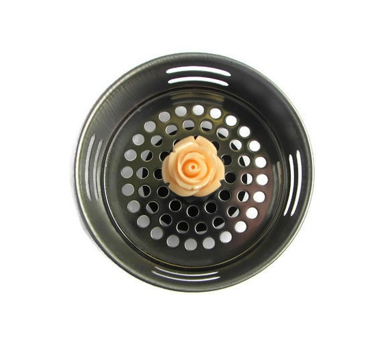 Sink strainer flower decor flower kitchen kitchen sink - Decorative kitchen sink strainers ...