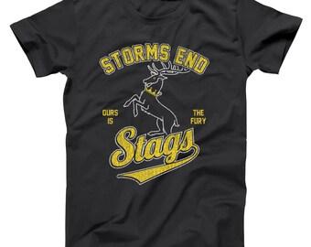 Storms End Stags House Baratheon Sports Got Team Men's T-Shirt DT1345