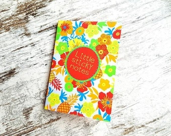 """Stickynotes book """"tropical"""""""