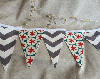 13 Cotton Flag Garland bunting