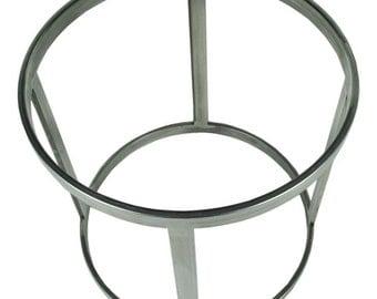 Round Carbon Steel Metal base- FREE SHIPPING
