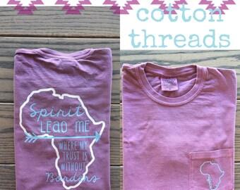 Comfort Colors Africa Short Sleeve Pocket T-Shirt
