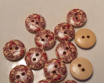 """8  5/8""""  Buttons for Sweaters, Knitting, Sewing, Button Crafts, Scrapbooking"""