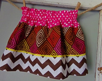 funky and bright aztec