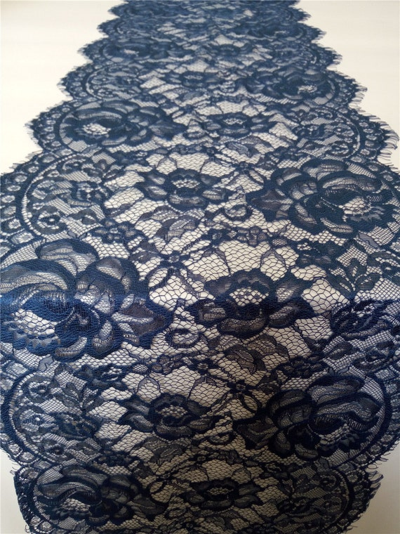 Navy Blue Lace Table Runner 12 Navy Table Runners