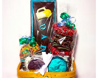 Father's Day Belgian Chocolate Assortment Basket