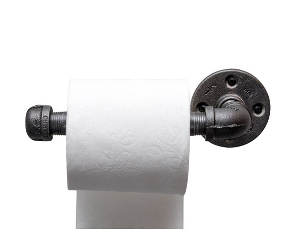 Toilet Paper Roll Holder Industrial Style Urban Decor