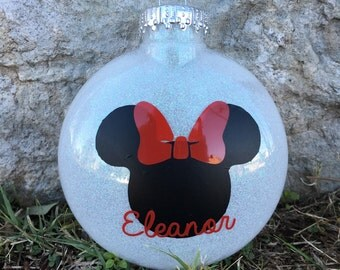 Mickey/Minnie Mouse Ornament