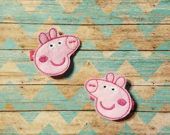 Peppa Pig clips, Peppa clippies, Peppa clip