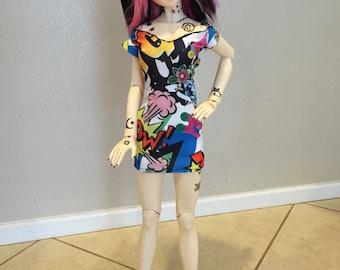 SD bjd Comic dress