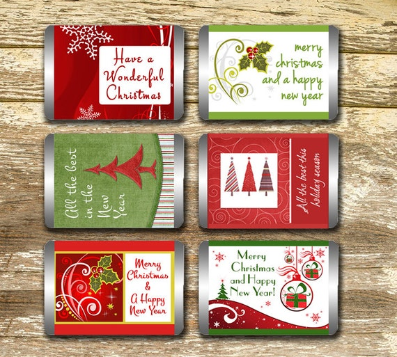 mini candy bar wrappers christmas candy wrappers christmas
