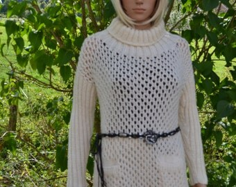 hand knitted dress