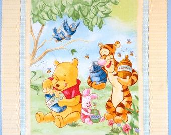 Winnie the Pooh Panel by Spring Creative  OOP VHTF