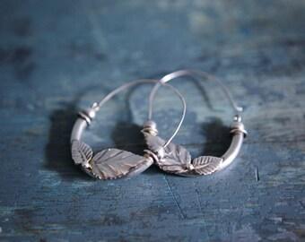 pair of vintage earrings 925 Silver