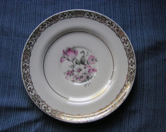 """American Limoges Candle Light """"Masterpiece"""" saucer"""