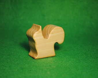 Squirrel Wooden Toy - Wood Figurine squirrel - Squirrel Toy - Wood Toy - Organic Toys - Toy Animals - Waldorf Toy - Wooden Animals