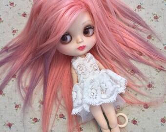 Custom made Blythe doll mohairwig wig BJD extra long mohair wig SD mohair wig Blythe doll outfit Blythe doll wig