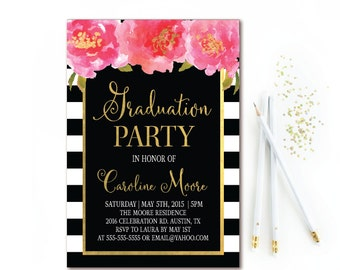 Items Similar To Nurse Graduate Party Invite Printable