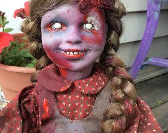 Zombie, walking dead doll