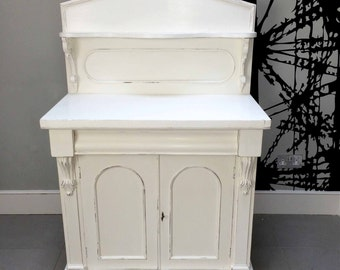 Painted Antique Sideboard Chiffonier